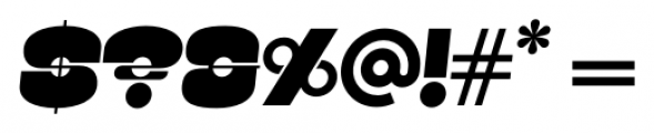 Kenwyn Single Dot Oblique Font OTHER CHARS