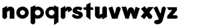 Keedy Sans Bold Font LOWERCASE