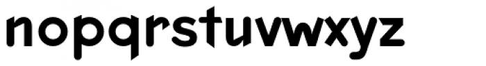 Keedy Sans Regular Font LOWERCASE
