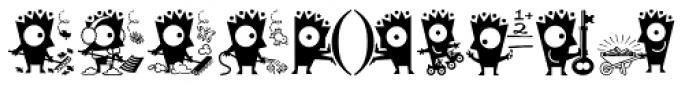 Keefbat2 Font LOWERCASE
