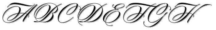 Keepsake Drop Font UPPERCASE