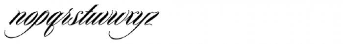 Keepsake Fill Font LOWERCASE