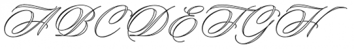 Keepsake Open Font UPPERCASE
