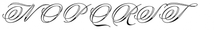 Keepsake Font UPPERCASE