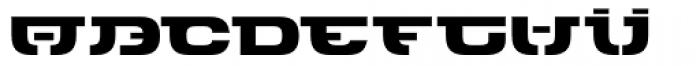 Keet Heavy Font LOWERCASE