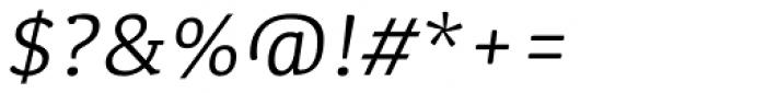 Kefa II Pro Book Italic Font OTHER CHARS