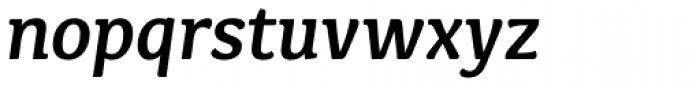 Kefa II Pro SemiBold Italic Font LOWERCASE