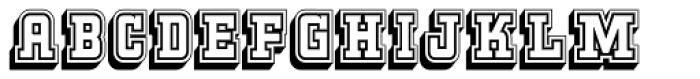 Kegger Collegiate Font LOWERCASE