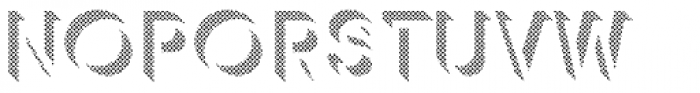 Keith Dot Up Font UPPERCASE