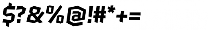 Keks SemiBold Font OTHER CHARS