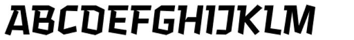 Keks SemiBold Font UPPERCASE
