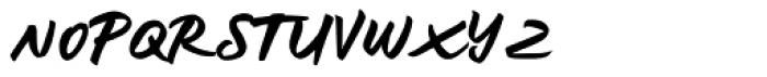 Kelasik Handmade Regular Font UPPERCASE
