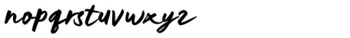 Kelasik Handmade Regular Font LOWERCASE