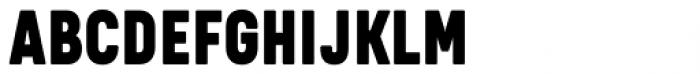 Kelpt A2 Black Font UPPERCASE