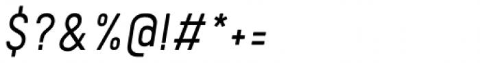 Kelpt A2 Semi Light Italic Font OTHER CHARS