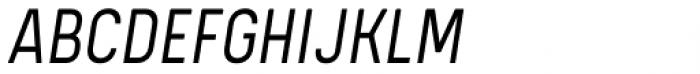 Kelpt A2 Semi Light Italic Font UPPERCASE