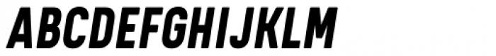 Kelpt A3 Extra Bold Italic Font UPPERCASE