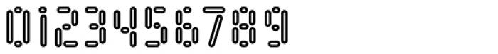 Kempt Condensed Outline Bold Font OTHER CHARS