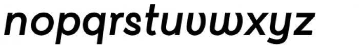 Kentledge Extra Bold Italic Font LOWERCASE