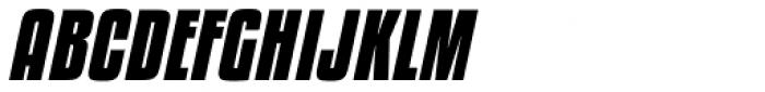 Kenyan Coffee Bold Italic Font UPPERCASE