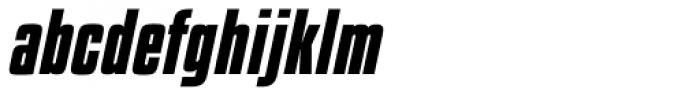 Kenyan Coffee Bold Italic Font LOWERCASE