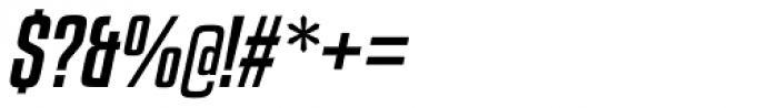 Kenyan Coffee Italic Font OTHER CHARS