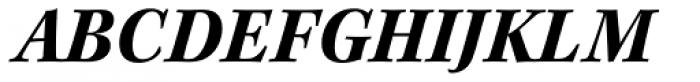 Kepler Std Bold Italic Font UPPERCASE