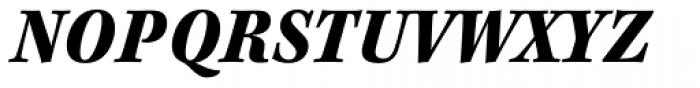 Kepler Std Caption SemiCond Black Italic Font UPPERCASE