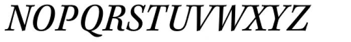 Kepler Std Caption SemiCond Italic Font UPPERCASE