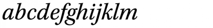 Kepler Std Caption SemiCond Italic Font LOWERCASE