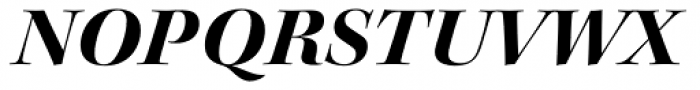 Kepler Std Display Ext Bold Italic Font UPPERCASE