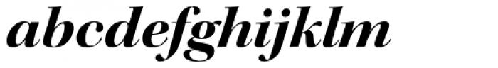 Kepler Std Display Ext Bold Italic Font LOWERCASE
