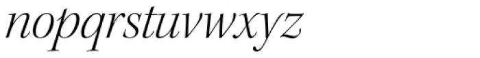 Kepler Std Display Light Italic Font LOWERCASE