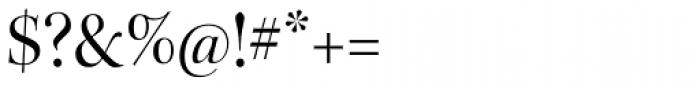 Kepler Std Display Regular Font OTHER CHARS