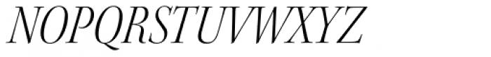 Kepler Std Display SemiCond Light Italic Font UPPERCASE