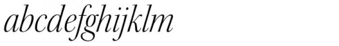 Kepler Std Display SemiCond Light Italic Font LOWERCASE