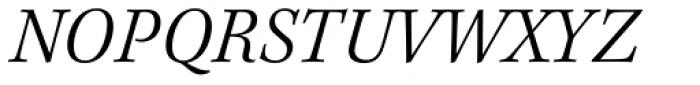 Kepler Std Light Italic Font UPPERCASE