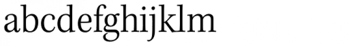 Kepler Std SemiCond Light Font LOWERCASE