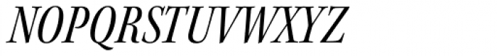 Kepler Std SubHead Cond Italic Font UPPERCASE