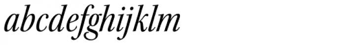 Kepler Std SubHead Cond Italic Font LOWERCASE