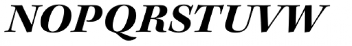 Kepler Std SubHead Ext Bold Italic Font UPPERCASE