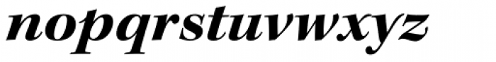 Kepler Std SubHead Ext Bold Italic Font LOWERCASE