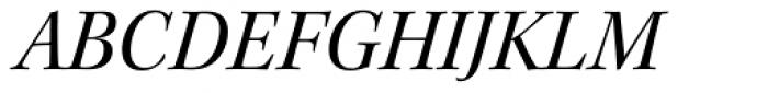 Kepler Std SubHead Italic Font UPPERCASE