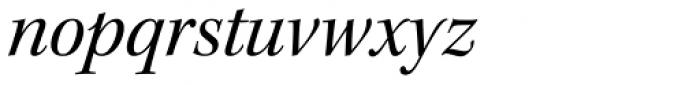 Kepler Std SubHead Italic Font LOWERCASE