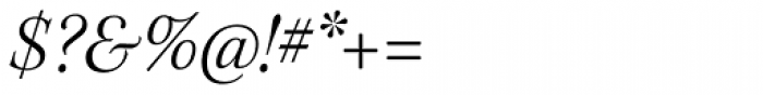 Kepler Std SubHead Light Italic Font OTHER CHARS