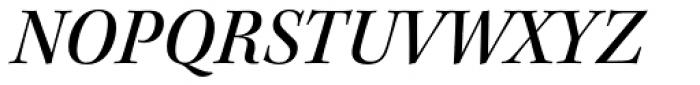 Kepler Std SubHead Medium Italic Font UPPERCASE