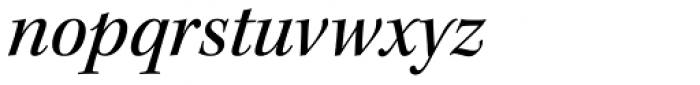 Kepler Std SubHead Medium Italic Font LOWERCASE