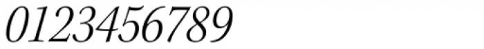 Kepler Std SubHead SemiCond Light Italic Font OTHER CHARS