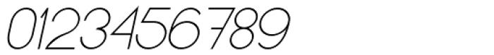 Kerater UltraLight Italic Font OTHER CHARS