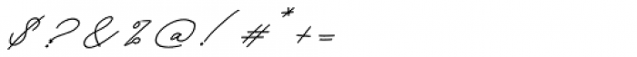 Keraton Italic Font OTHER CHARS